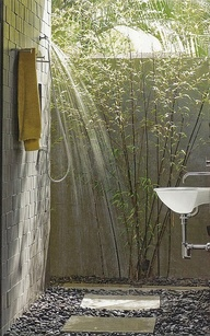 Outdoor shower #1